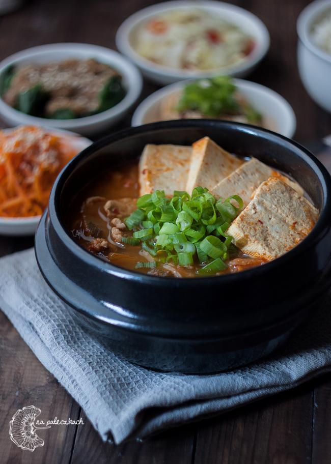 zupa z kimchi