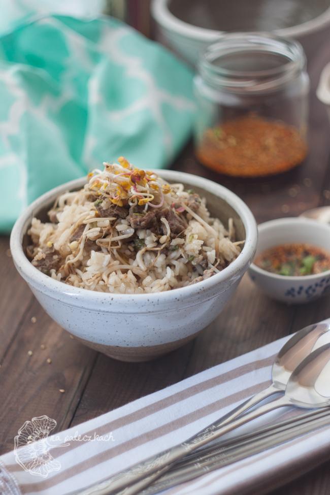 ryż z kiełkami