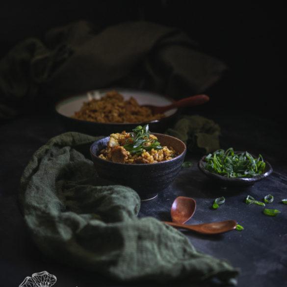 smażony ryż curry