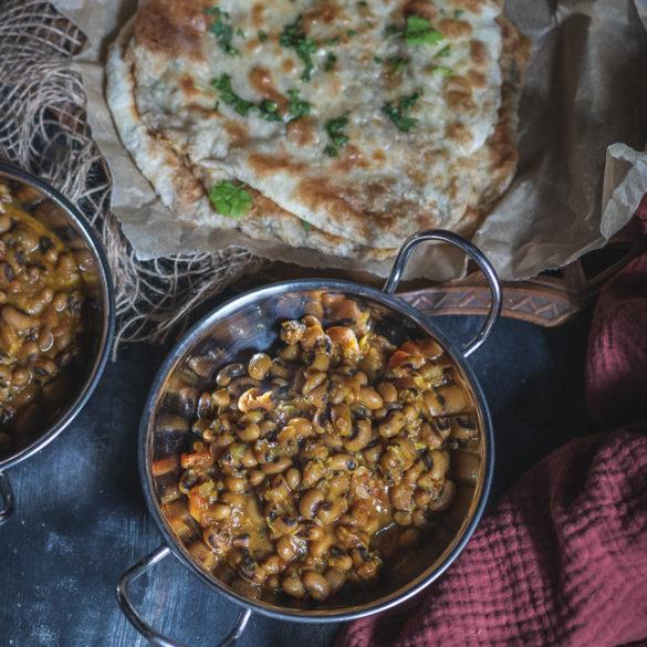curry z fasoli